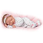 So Truly Real Snuggle Close Sadie Lifelike Baby Doll