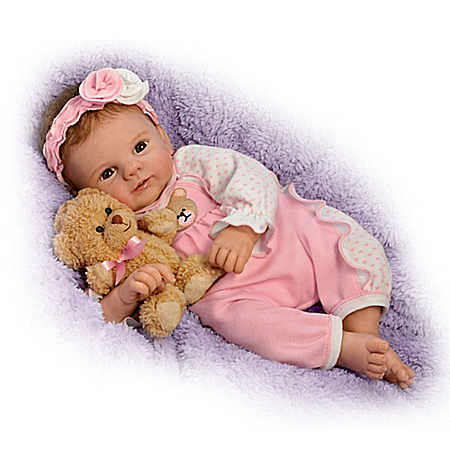 Un-bear-ably Cute! So Truly Real Baby Doll