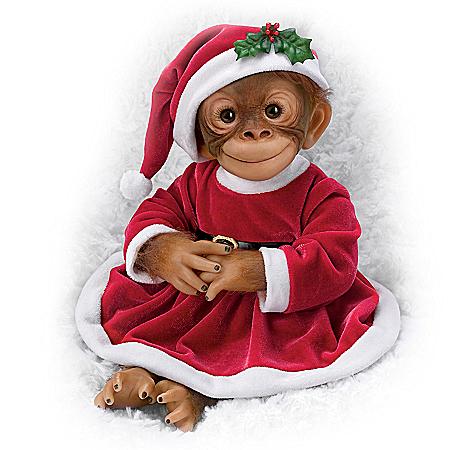 Amy Ferreria Holly The Holiday Monkey Doll 302570001