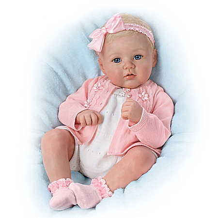 Perfect In Pink Annika Lifelike Poseable Baby Doll