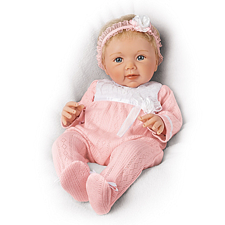 Sherry Rawn Adorable Addison Lifelike Baby Doll