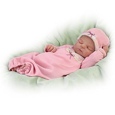 Sleep Tight, Emma Lifelike Baby Doll