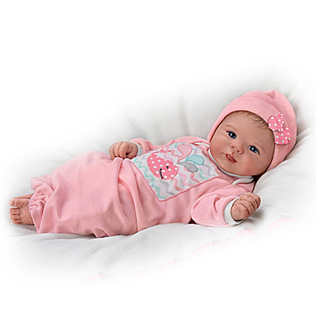 Little Squirt Lifelike Newborn Baby Doll