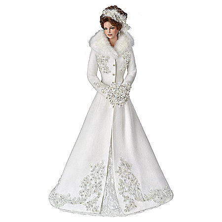 Cindy McClure Winter Romance Wedding Bride Doll
