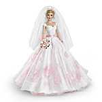 Sandra Bilotto Love In Bloom Bisque Porcelain Bride Doll