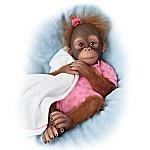 So Truly Real Novi Monkey Doll