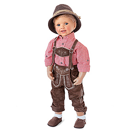 Luis Lifelike Child Doll