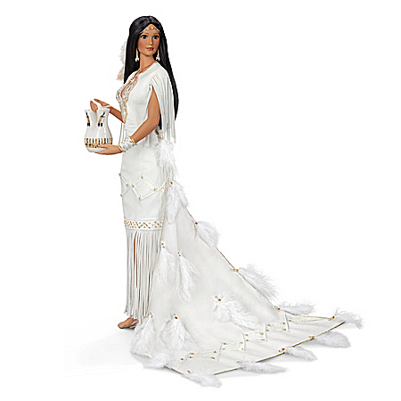 Blessings Of The Great Spirit Native American-Inspired Bride Doll