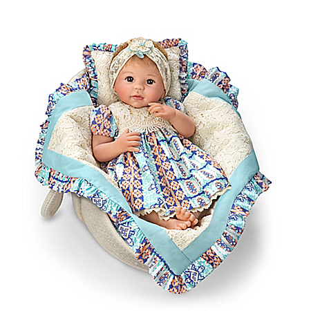 So Truly Real Delilah Baby Doll By Linda Murray