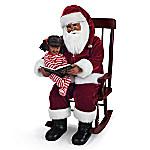 Karen Vander Logt 'Twas The Night Before Christmas Santa Portrait Doll Set