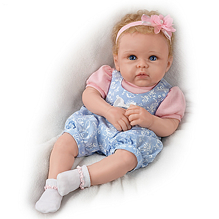 Little Livie TrueTouch Authentic Silicone Baby Doll