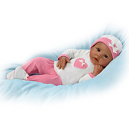 So Truly Real Jayla Touch-Activated Baby Doll