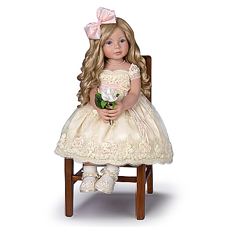 So Truly Real Pearls, Lace, And Grace RealTouch Vinyl Child Doll