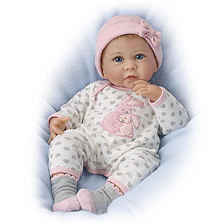 So Truly Real Somebunny Loves You Lifelike Baby Doll
