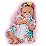 TrueTouch Silicone Pretty And Petite Presley Lifelike Baby Doll