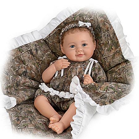 Camo Cutie RealTouch Vinyl Lifelike Baby Doll