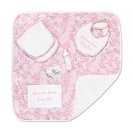 Welcome Home Baby Doll Accessory Set With Drawstring Storage Bag