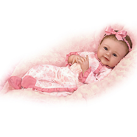 So Truly Real Megan Rose RealTouch Vinyl Baby Doll