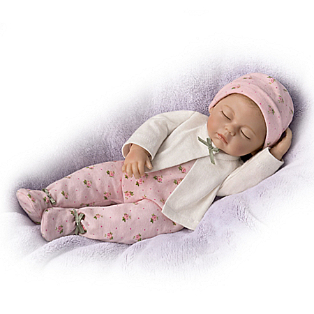 Tiny Miracles Sleepytime Sophie Baby Doll