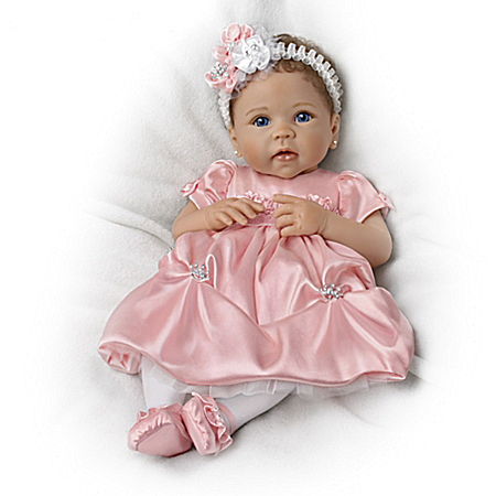 So Truly Real Pretty As A Princess Vinyl Baby Doll