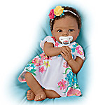 TrueTouch Silicone Little And Lovely Gabrielle Lifelike Baby Doll