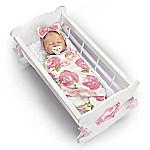 Marissa May Rock-A-Bye Vinyl Baby Doll & Accessories Set