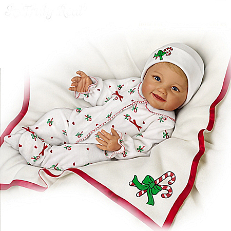 So Truly Real Baby's First Christmas Baby Doll