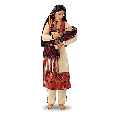 Sacred Bond Mother And Baby Portrait Doll Set