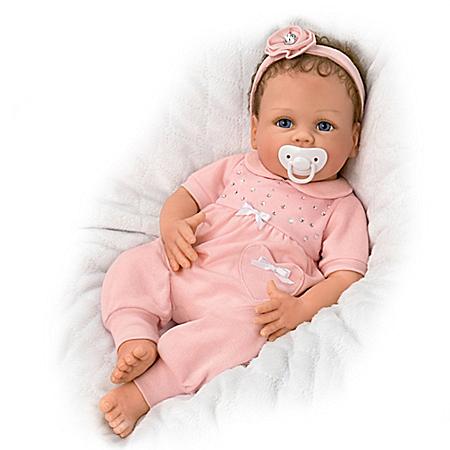 Linda Murray Cooing Chloe Breathing Baby Doll