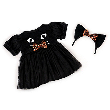 """Kitty Baby Doll Outfit Set For 20"""" – 22"""" Dolls"""