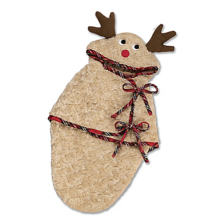 Reindeer Bunting Baby Doll Accessory For 17 – 22 Dolls