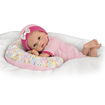 So Truly Real Cuddle Cutie Vinyl Baby Doll