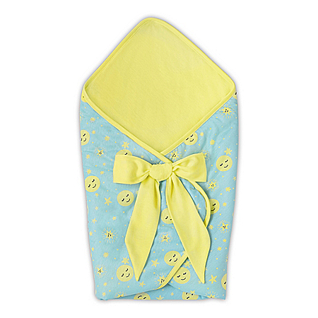 Lullaby Two-Sided Bunting Baby Doll Accessory That Plays Music