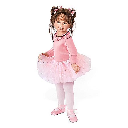 Monika Levenig Lara Fully Jointed Ballerina Child Doll
