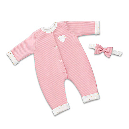 Reversible Sleeper And Headband Set For 17 – 19 Baby Dolls