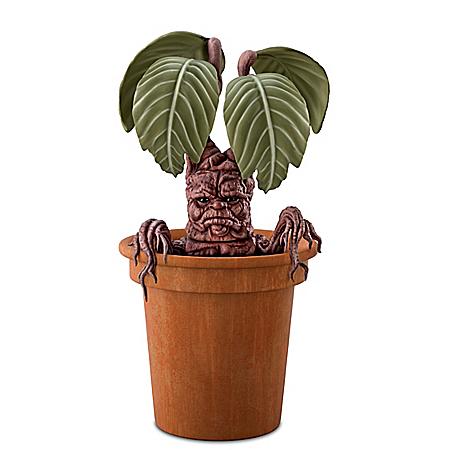 HARRY POTTER Poseable MANDRAKE Portrait Figure With Planter Pot