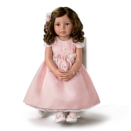 So Truly Real Isn't She Lovely Vinyl Child Doll