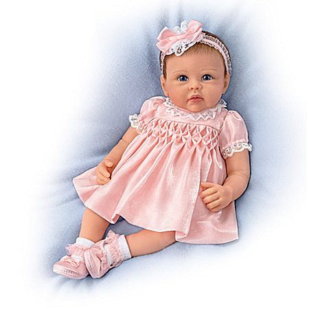 Linda Murray All Dolled Up Olivia Authentic Silicone Baby Doll
