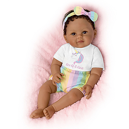 Ping Lau So Truly Real One-Of-A-Kind Ciara Vinyl Baby Doll
