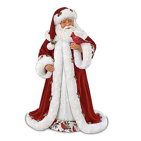 Karen Vander Logt Winter Blessings Musical Santa Doll
