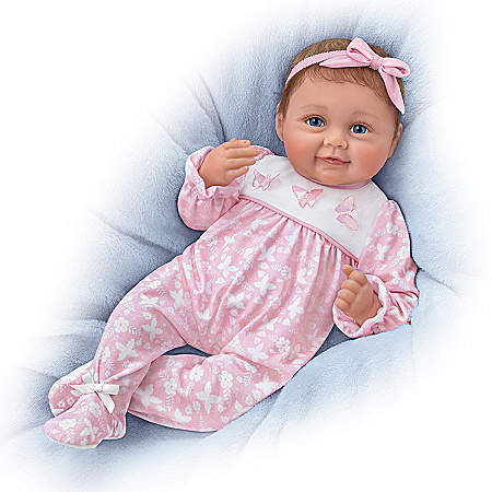 Hold Me Hailey Interactive Baby Doll Makes Four Sounds