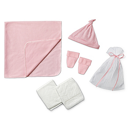 Pink Homecoming Accessory Set For Baby Dolls 17 – 19 Long