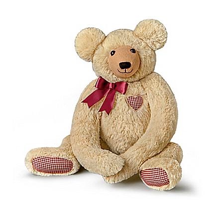 Dawn Santagata Plush Teddy Bear With Lifelike Heartbeat