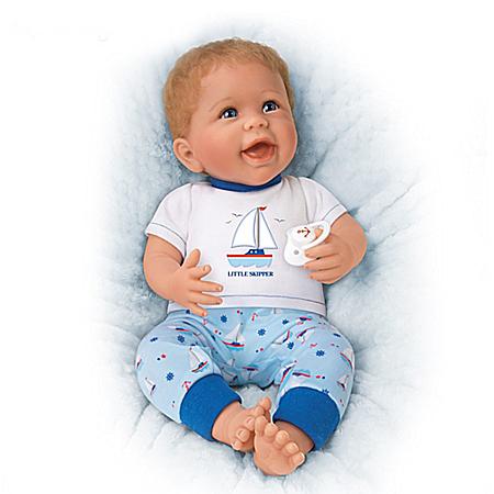 Little Skipper Vinyl Baby Doll by Linda Murray