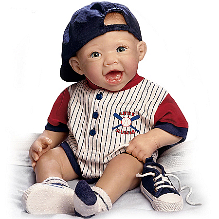 Michael, The Little Slugger So Truly Real Lifelike Baby Doll