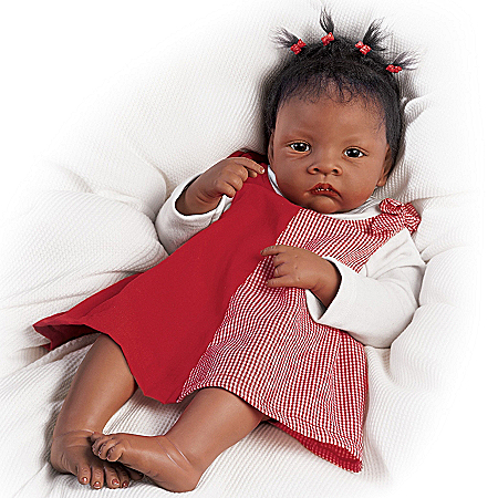 Waltraud Hanl Baby Jasmine Goes To Grandma's So Truly Real Baby Doll