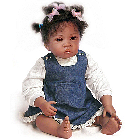 Waltraud Hanl Jasmine's At Age 1-1/2 So Truly Real Lifelike Baby Doll