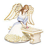 With You Always Collectible Porcelain Angel Figurine