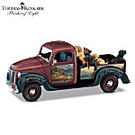 Labrador Retrievers Musical Truck by Thomas Kinkade