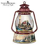 Thomas Kinkade Light Of Peace Collectible Lighthouse Music Box